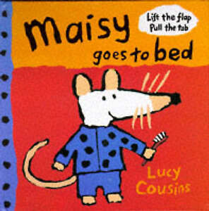 Maisy Goes to Bed-ExLibrary