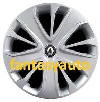 Renault Clio Kangoo Scenic Twingo Set 4 Borchie Coppe Copponi Copri Cerchi 14