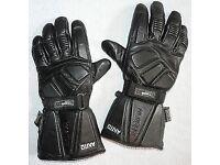 Akito Magnum Large Leather Motorbike Gloves