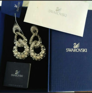 Swarovski authentic earrings Highgate Hill Brisbane South West Preview