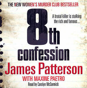 8th Confession: (Women's Murder Club 8) by James Patterson (CD-Audio, 2009)
