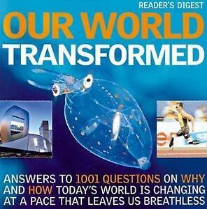 """""""AS NEW"""" Our World Transformed (Readers Digest), Reader's Digest, Book"""