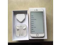 iPhone 6s 64GB white boxed good condition UNLOCKED