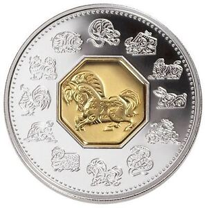 2002 Year of the Horse Lunar Coin