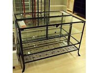 Ikea Klingsbo Glass Display Cabinet