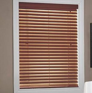Shade-O-Matic® 'Jasper' Printed Wood Made-to-Measure Blinds