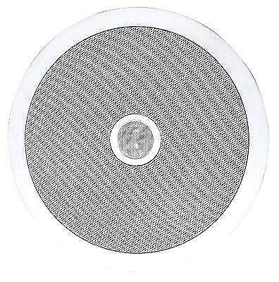 PROFESSIONAL SURROUND SOUND CEILING SPEAKERS --- CEILING OR WALL MOUNT SO  THE MESSY WIRES ARE HIDDEN !