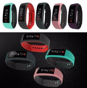 SMART WRISTBAND BLUETOOTH HEART RATE MONITOR WATERPROOF SMART SPORT BRACELET WATCH,