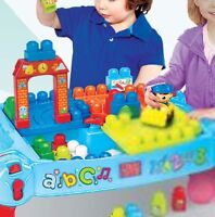 Mega Bloks® First Builders 22-Piece 'Build 'N Learn Table' Play