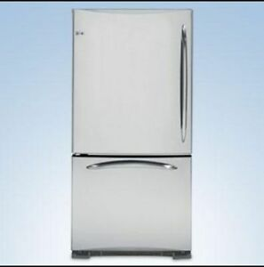 GE Profile Stainless Fridge-Frigo-Réfrégirateur