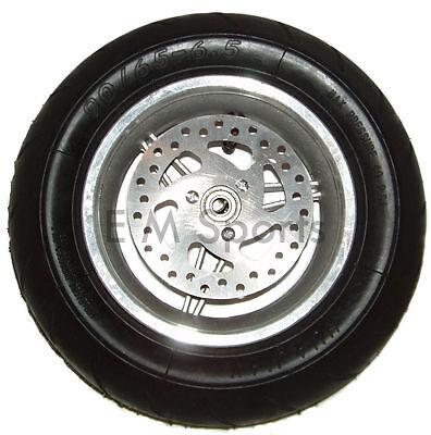 Mini Pocket Bike Parts Front Tire Wheel Rim 90 65 6.5 Includes Brake Disk