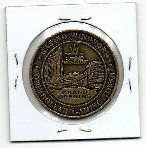 WINDSOR/DRESDEN CASINO COINS