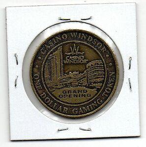 WINDSOR/DRESDEN CASINO COINS Windsor Region Ontario image 1