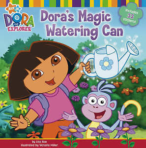 Dora's Magic Watering Can (Dora the Explorer), New, Nickelodeon Book