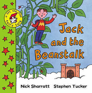 Rare!Lift-the-flap Fairy Tale: Jack and the Beanstalk by Stephen Tucker,