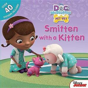 Doc McStuffins Smitten with a Kitten by Disney Book Group (Paperback /...