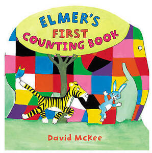 MCKEE,DAVID-ELMER`S FIRST COUNTING BOOK  BOOK NEW