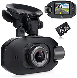Z-Edge GPS Dash Cam, Front and Inside Camera