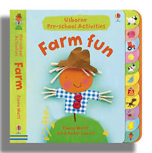 Farm Fun (Usborne Activities), Watt, Fiona, Very Good Book