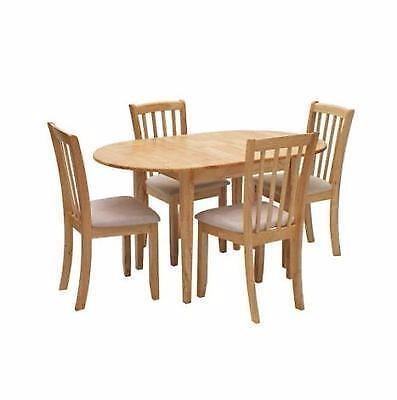 banbury extendable dining table and four chairs gallery