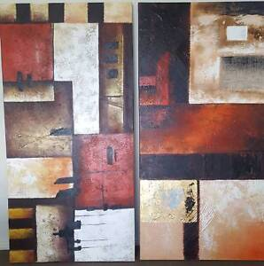 Modern Abstract Canvas Paintings Casey Area Preview