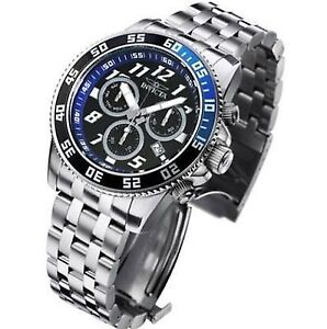 NEW NEUF MONTRE WATCH INVICTA DIVER POLISHED LOOK LIKE NEW