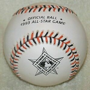 Rawlings 1993 All-Star Collectible Baseball in Case