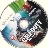 Black ops xbox 360 (disc only)
