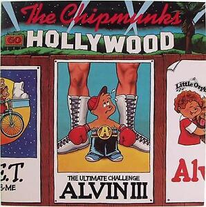 Chipmunks Go Holltwood-Alvin and the Chipminks-1982 LP-very good