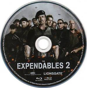 the expendables triolgy blu-ray movies.