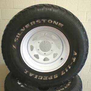 4WD-CAMPER-TRAILER-CARAVAN-NEW-15-INCH-STEEL-WHEEL-2ND-TYRE