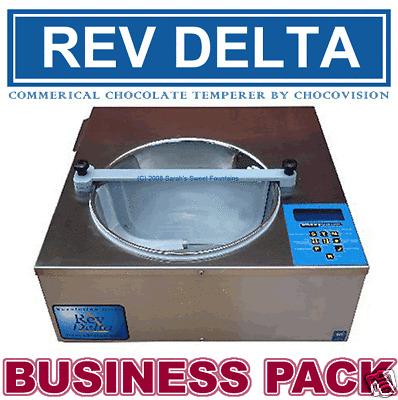 Revolation Rev Delta Chocovision Chocolate Tempering Machine Business Pack