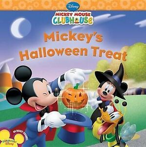 Mickey's Halloween Treat (Disney Mickey Mouse Clubhouse) by Disney ...