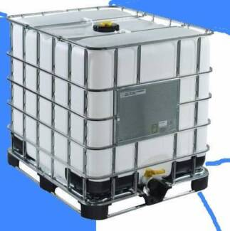 1000 Litres Water Tank IBC (Food Grade) From $60.00