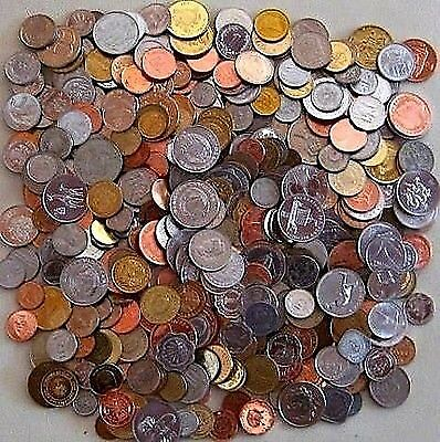 One Pound of Foreign World Coins + Bonus Silver Coin if You Purchase Two!