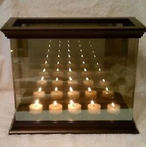 Partylite infinite reflections candle holder