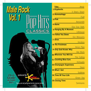 Top/Pop Hits Monthly Karaoke Classics Male Rock Vol.1