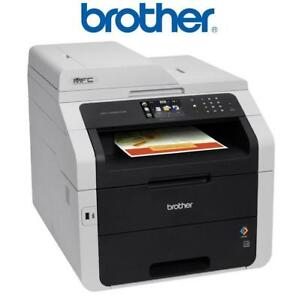 USED BROTHER AIO WIRELESS PRINTER - 134064666 - 40 PAGES PRINTED  All-In-One Colour Laser  ScannerCopier and Fax