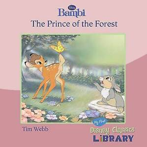 Disney-034-Bambi-034-The-Prince-of-the-Forest-Paperback-Book-Acceptable-97814