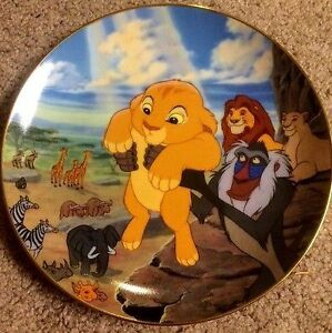 Disney Collectible Plates