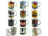 Job Lot of Retro Mugs