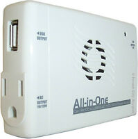New - DC TO AC POWER INVERTERS - IDEAL FOR TRAVEL OR EMERGENCIES