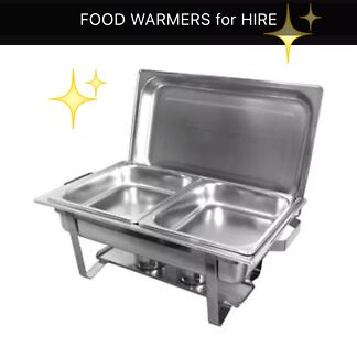 Food warmer for party hire