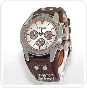 Fossil Mens Watch Leather