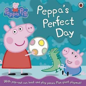 Peppa Pig: Peppa's Perfect Day, Ladybird, Very Good Book