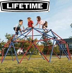 NEW LIFETIME GEOMETRIC CLIMBER 1010787 188346393 DOME KIDS YARD PLAYGROUND FITNESS RECREATION OUTDOORS
