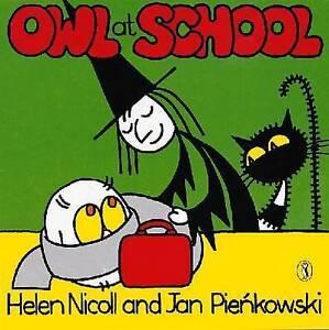 Preschool Story Book - Meg and Mog Story Book - OWL AT SCHOOL - NEW