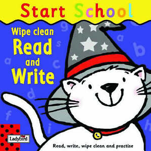 Wipe-Clean Read And Write: Start School, Birkinshaw, Marie, Very Good Book