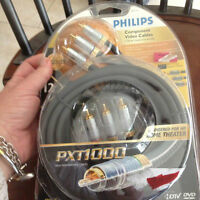 Tv/ audio cables 12' lenght like new