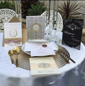 ELEGANT WEDDING INVITATIONS. Kogarah Rockdale Area Preview
